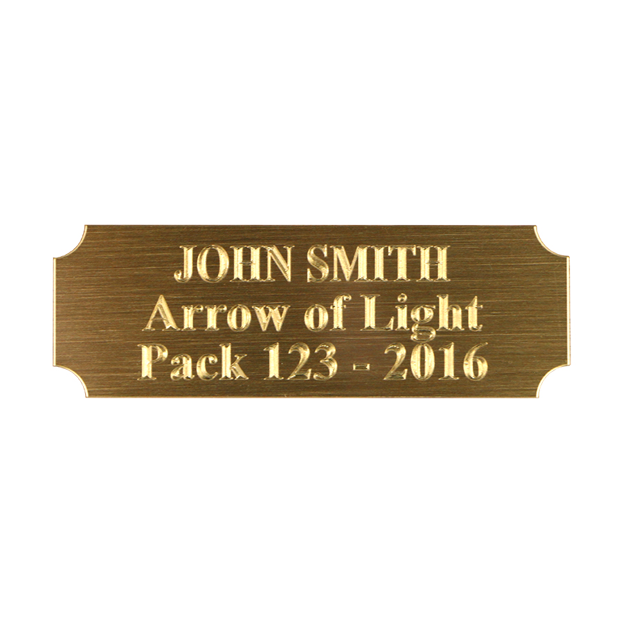 Arrow of light kit everything you need to make your arrow of light engraved name plate buycottarizona Choice Image